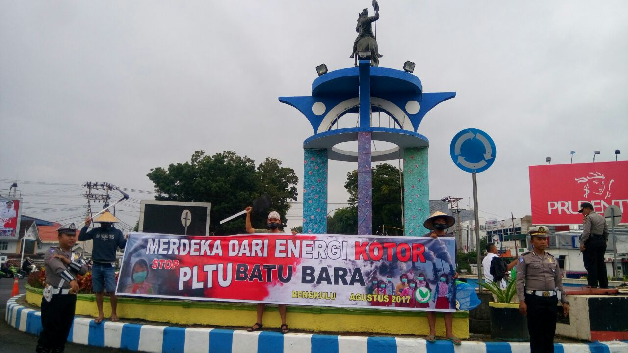Merdeka dari Energi Kotor, Stop PLTU Batubara (kompas)