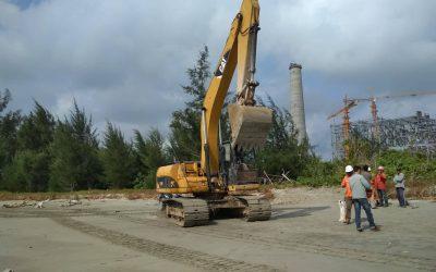 Petani Bengkulu hadang pembangunan pipa PLTU