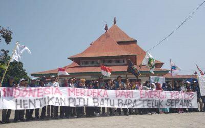 INDONESIA MERDEKA DARI ENERGI KOTOR, HENTIKAN PLTU BATU BARA TELUK SEPANG!!