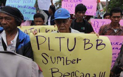 TUTUP TOTAL PLTU batu bara Teluk Sepang