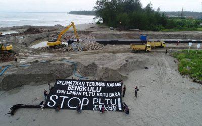 Selamatkan terumbu karang, stop PLTU batu bara Teluk Sepang