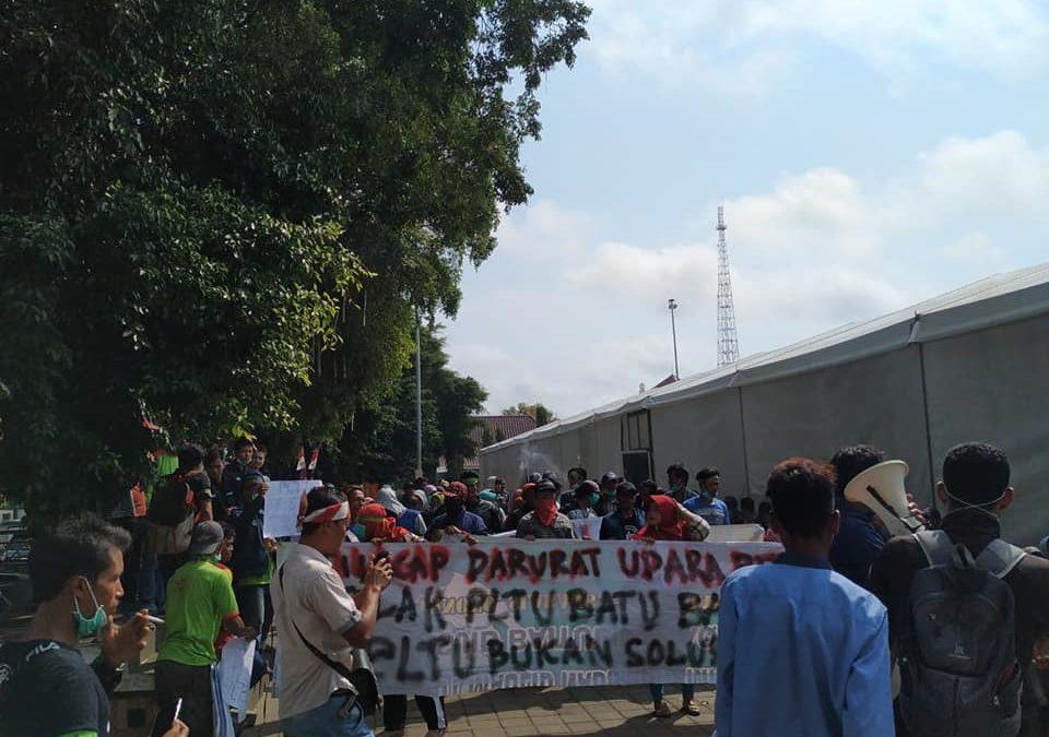 Warga Winong Cilacap tolak PLTU, menuntut hak atas lingkungan yang sehat