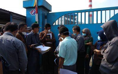 Ketika hakim PTUN ditolak masuk PLTU Teluk Sepang Bengkulu